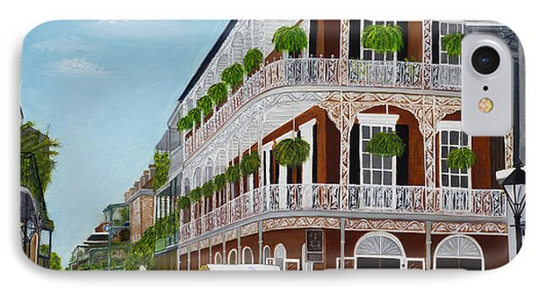 A Carriage Ride In The French Quarter IPhone Case by Judy Jones