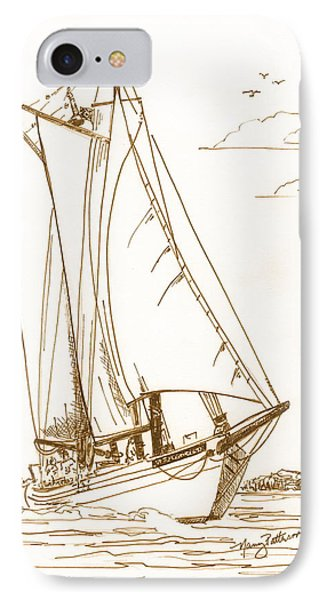 A Day On The Bay IPhone Case by Nancy Patterson