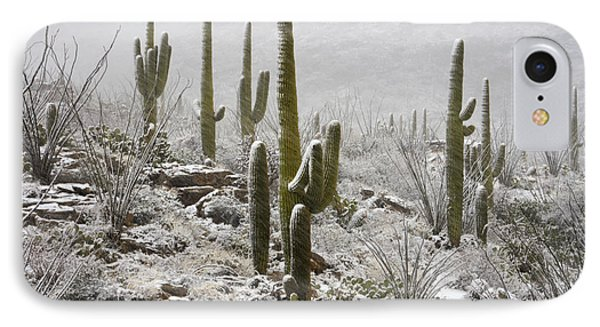 A Desert Blizzard  Phone Case by Saija  Lehtonen