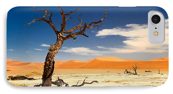 A Desert Story IPhone Case by Juergen Klust