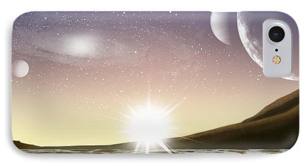 A Distant World Phone Case by Brian Wallace