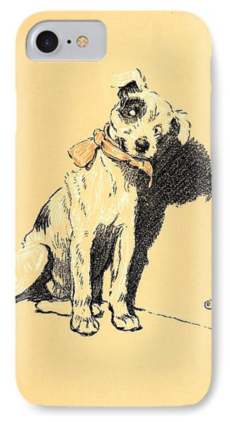A Dog Day 1902-b Phone Case by D and I  Printing