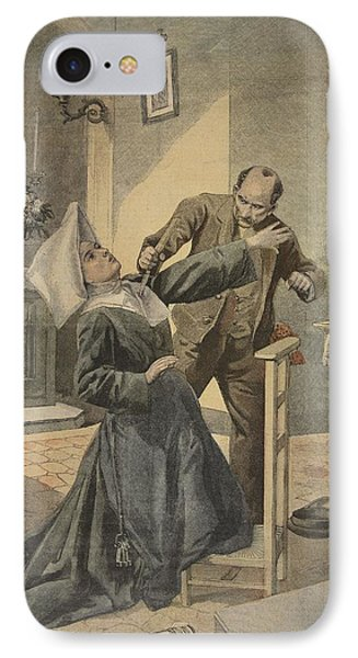 A Drama In An Asylum Assassination Phone Case by French School