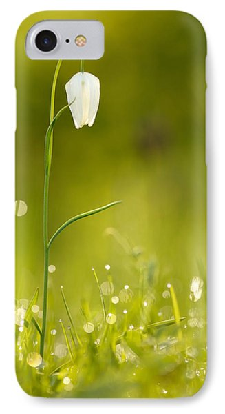 A Fairies' Place IIi _snake's Head Fritillary IPhone Case by Roeselien Raimond