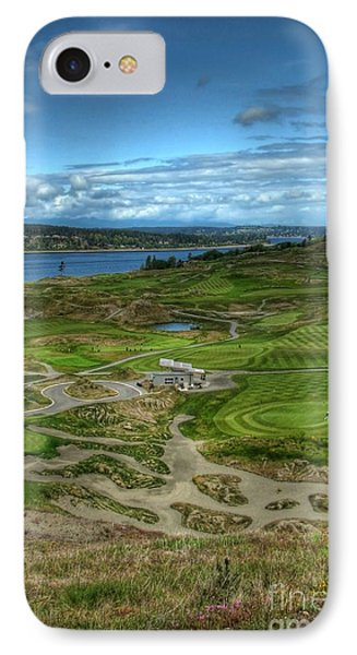 IPhone Case featuring the photograph A Fairway To Heaven - Chambers Bay Golf Course by Chris Anderson