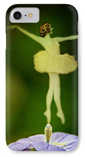 A Fairy In The Garden Phone Case by Rebecca Sherman