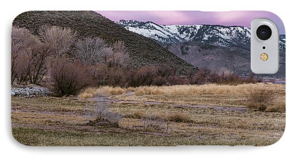 IPhone Case featuring the photograph A Favorite Place by Nancy Marie Ricketts