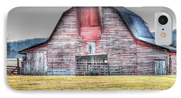 IPhone Case featuring the photograph A Fine Barn by Linda Segerson