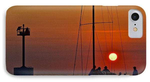 A Fine Days End Phone Case by Frozen in Time Fine Art Photography