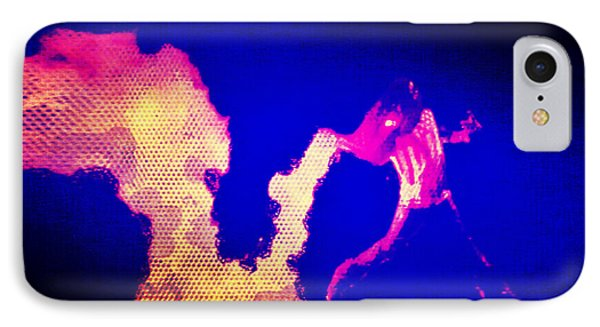 A Fire In Ferguson IPhone Case by Michelle Dallocchio