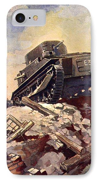 A First World War Tank IPhone Case
