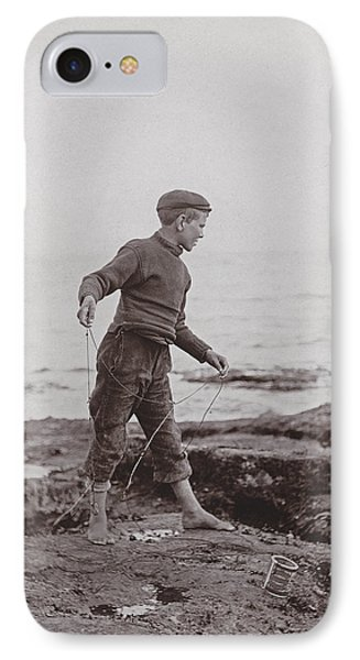 A Fisher Laddie Phone Case by James Patrck