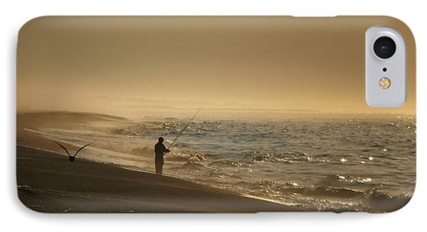 IPhone Case featuring the photograph A Fisherman's Morning by GJ Blackman