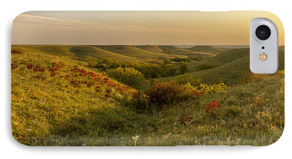 A Flint Hills View IPhone Case by Scott Bean