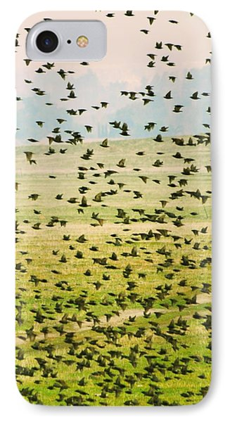 A Flock Of Freedom IPhone Case