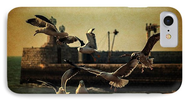 A Flock Of Seagulls IPhone Case by Marco Oliveira