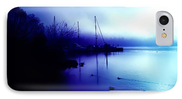 A Foggy Day At Log Boom Park In Kenmore Washington IPhone Case