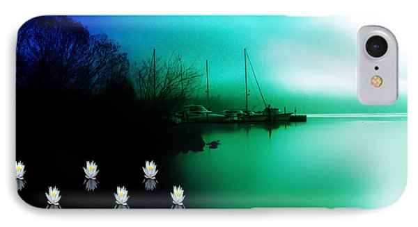 A Foggy Day At Log Boom Park On Lake Washington IPhone Case