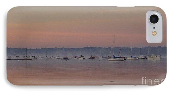 A Foggy Fishing Day Phone Case by John Telfer