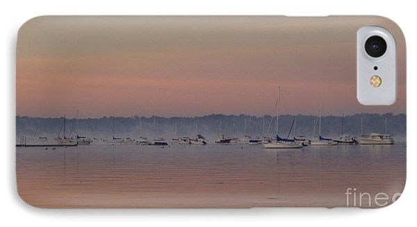IPhone Case featuring the photograph A Foggy Fishing Day by John Telfer