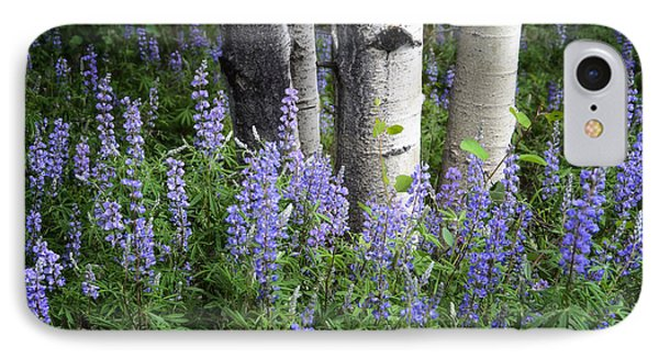 A Forest Of Blue IPhone Case by The Forests Edge Photography - Diane Sandoval