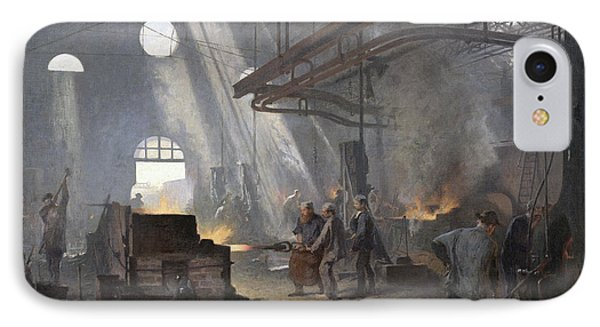 A Forge, 1893  IPhone Case