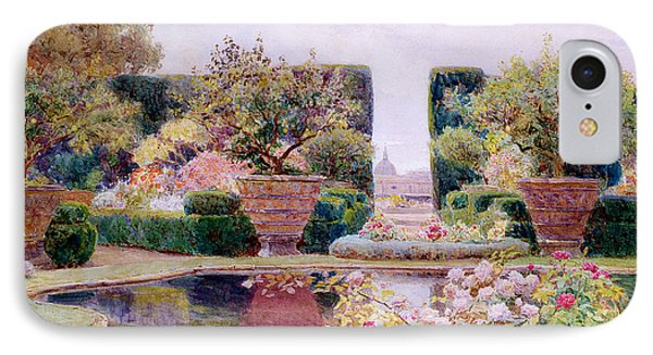 A Formal Garden In Rome IPhone Case