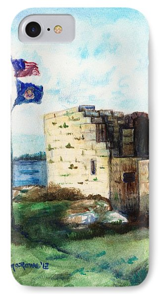 A Fort In Maine IPhone Case