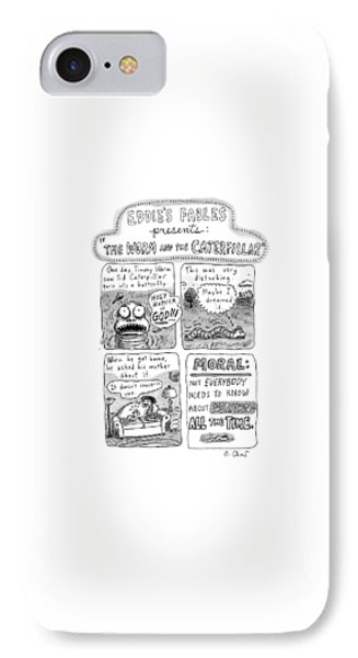 A Four-panel Cartoon Detailing The Trauma IPhone Case by Roz Chast
