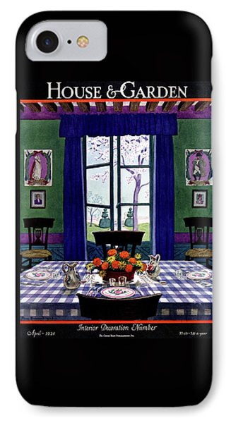 A French Provincial Dining Room IPhone Case by Pierre Brissaud
