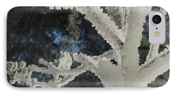 A Frosty Morning IPhone Case by Mike Breau