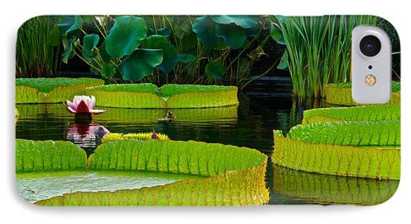 A Garden In Gentle Waters Phone Case by Byron Varvarigos