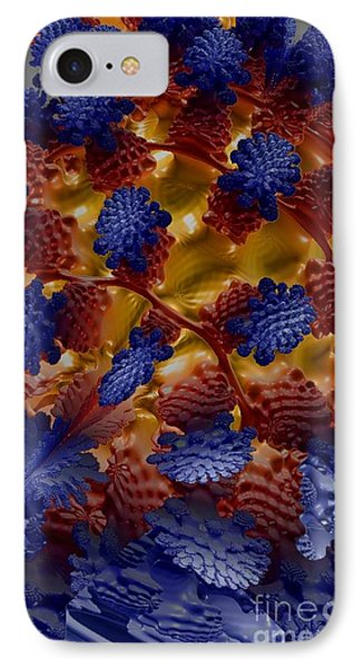 IPhone Case featuring the digital art A Garden In The Afterlife by Steed Edwards