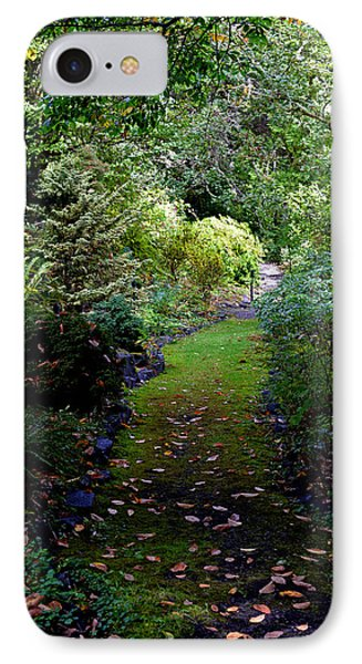 IPhone Case featuring the photograph A Garden Path by Anthony Baatz
