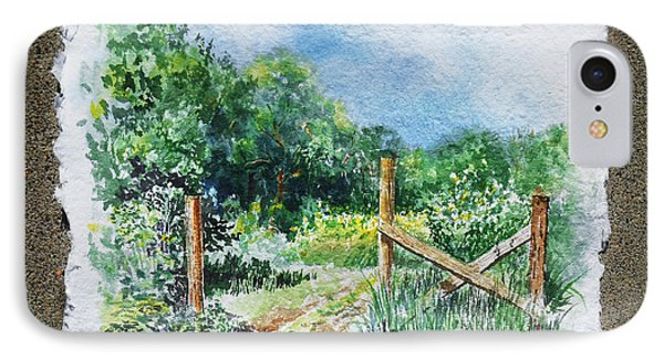 A Gate To The Ranch Briones Park California IPhone Case