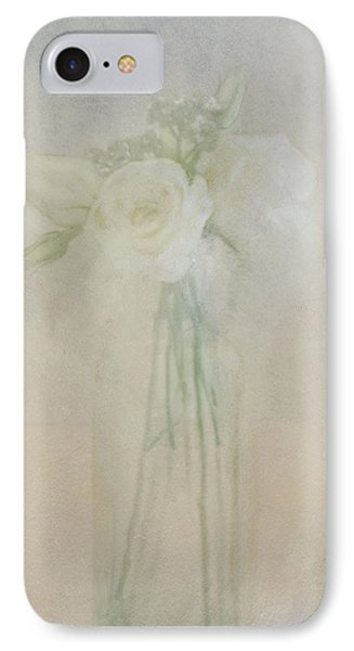 IPhone Case featuring the photograph A Glimpse Of Roses by Annie Snel