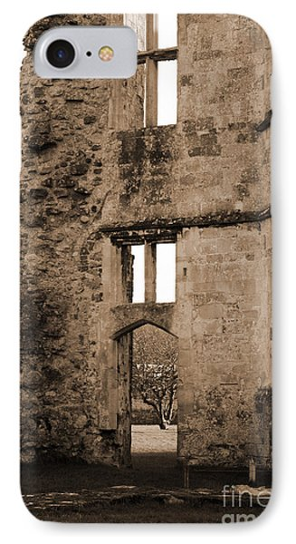 A Glimpse Of Titchfield Abbey Orchard Phone Case by Terri Waters