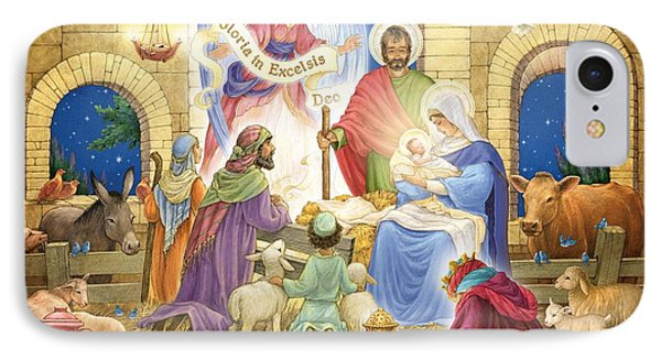 A Glorious Nativity IPhone Case