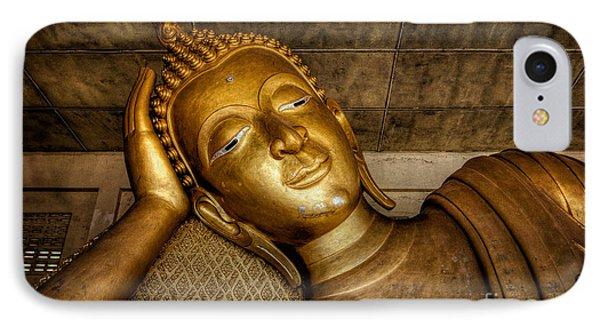 A Golden Buddha  IPhone Case