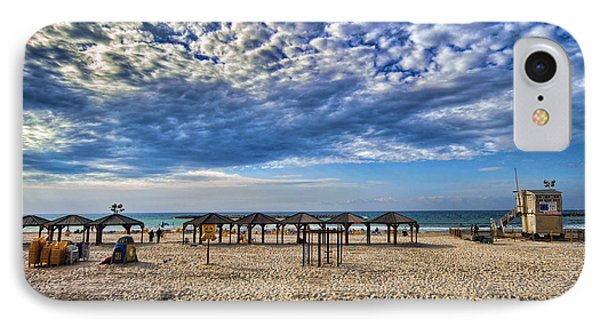a good morning from Jerusalem beach  Phone Case by Ron Shoshani
