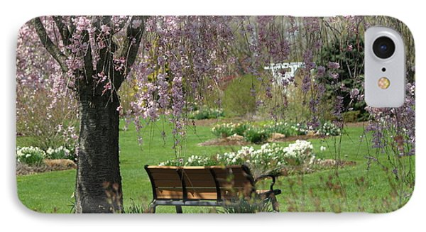 A Good Place To Read A Book IPhone Case by Living Color Photography Lorraine Lynch