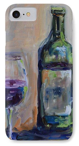 A Good Pour Phone Case by Donna Tuten