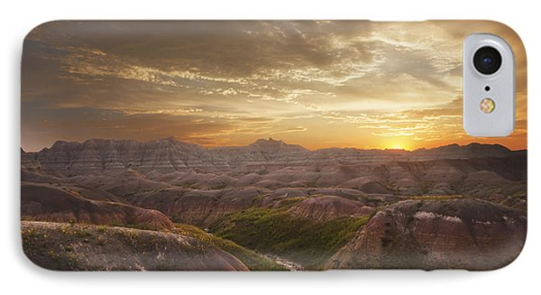 A Good Sunrise In The Badlands IPhone Case