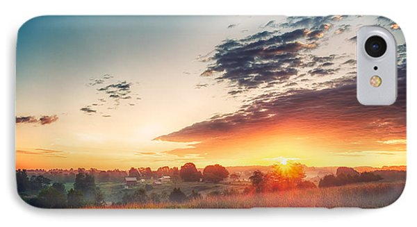 IPhone Case featuring the photograph A Goode Sunrise by Joshua Minso