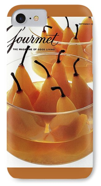 A Gourmet Cover Of Baked Pears IPhone Case by Romulo Yanes