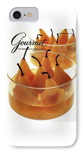 A Gourmet Cover Of Baked Pears IPhone Case