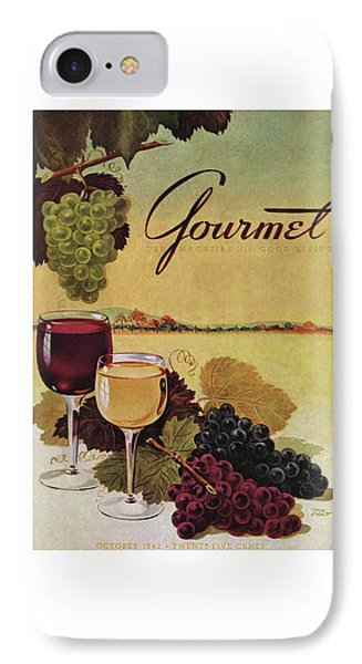 A Gourmet Cover Of Wine IPhone 7 Case
