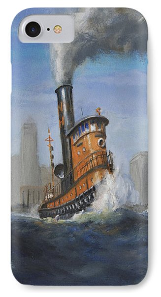 A Great Day For Tugs Phone Case by Christopher Jenkins