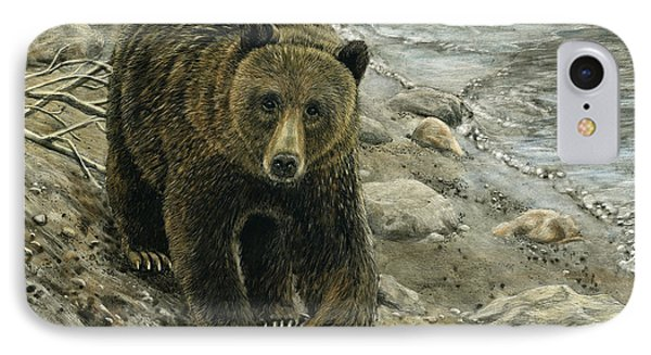 A Grey And Grizzly Day IPhone Case