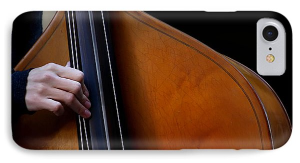 A Hand Of Jazz IPhone Case by KG Thienemann